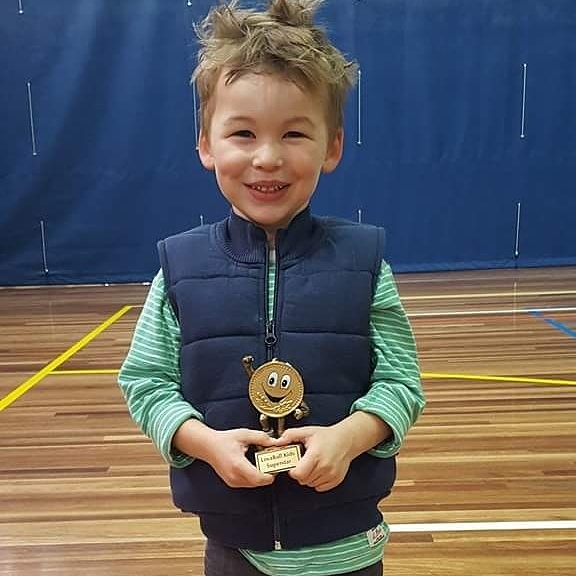 Preschool Sports Trophy Winner